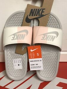 eb94c90d4844 Image is loading NIKE-BENASSI-JDI-SLIDES-Womens-SHOES-UK-2-