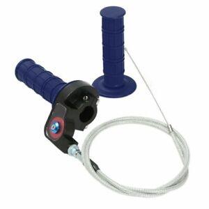 Blue-Pit-Dirt-Bike-Quick-Action-Throttle-Grip-Twist-Cable-125cc-140cc-PITBIKE