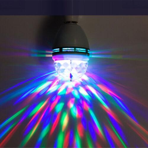 RGB Kristallkugel rotierenden LED Bühne Glühbirnen Disco Party Birne Lampe CN
