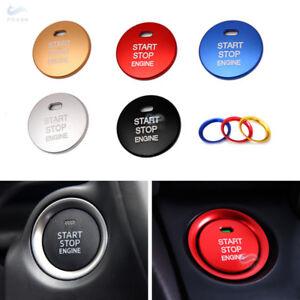 Alu-Alloy-Engine-Start-Stop-Button-Cover-Ring-For-Mazda-3-Axela-CX-3-CX-4-CX-5