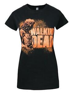 Walking-Dead-Zombies-Women-039-s-T-Shirt