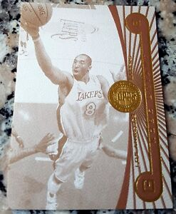KOBE-BRYANT-2005-2006-Topps-First-Row-Sepia-GOLD-RARE-SP-23-25-Lakers-MVP-HOF