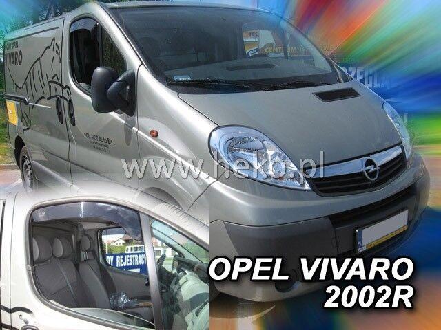 Windabweiser OPEL Vivaro NISSAN Primastar RENAULT Trafic 01-14 kurze 2tlg 25309