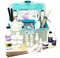 Sheba Nails Intermediate Uv Gel, Fiberglass, Odorlesss Or Reg Acrylic Tech Kit