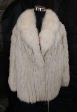 Saga Fox L XL Evans Collection Shawl Collar Fur Coat