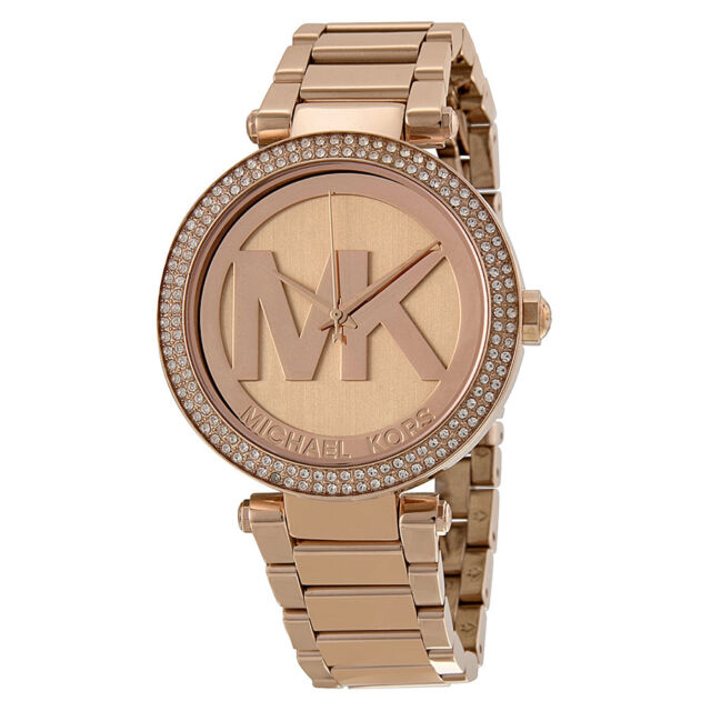 Michael Kors Rose Gold-tone Ladies Watch MK5865