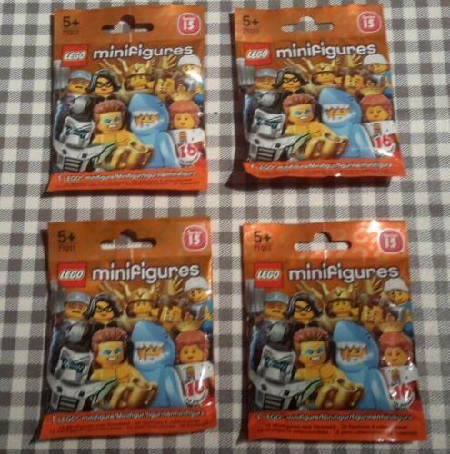 Lego minifigures series 15 unopened sealed random mystery blind bags packs