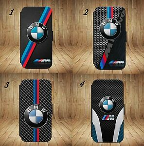 Luxury-BMW-M3-M4-M5-M6-X5M-Wallet-Flip-phone-Case-Cover-For-All-iPhone-Samsung