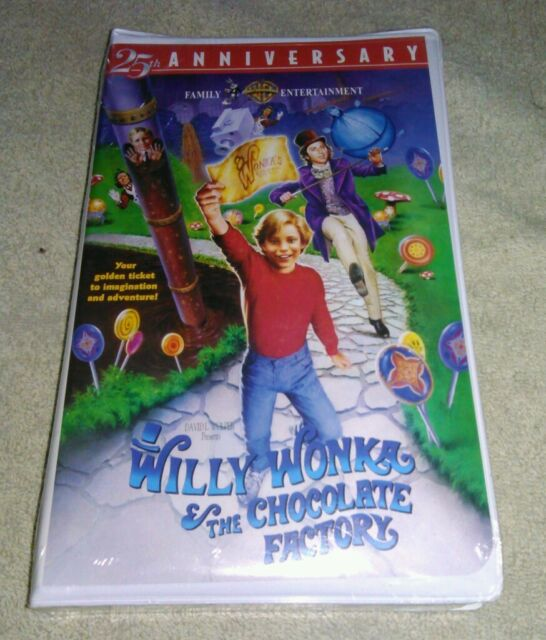 Willy Wonka And The Chocolate Factory Vhs Willy Wonka and...