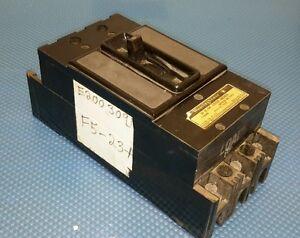 Westinghouse AB DE-ION Circuit Breaker 15 Amps 600 Volt 3 Pole F-Frame
