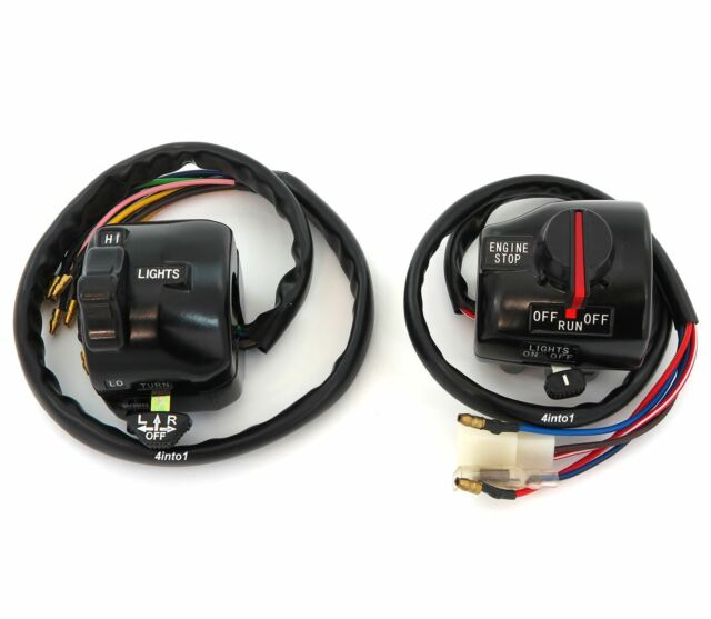 Yamaha XS650 Right Handlebar On//Off,Starter Switch 2L0-83975-01-98