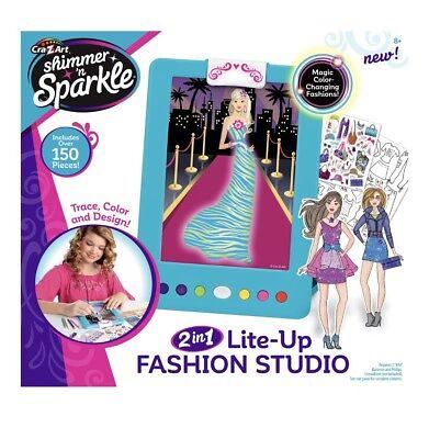 Girls Lite Up Sketch Craft Fashion Design Studio Ebay