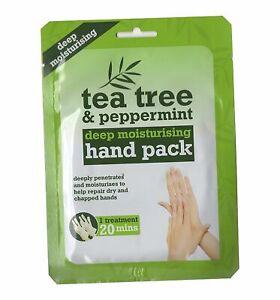 Tea-Tree-amp-Guanti-Idratante-alla-Menta-Pack-a-mano