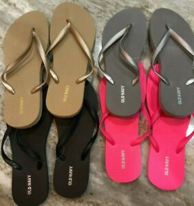 c914a9ab51b Old Navy Womens Flip Flops Assorted Colors   Sizes Brand New Sizes 6 ...