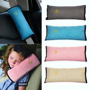 coussin oreiller ceinture de s curit voiture comfortable sommeil pour enfant ebay. Black Bedroom Furniture Sets. Home Design Ideas