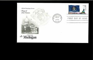 2009-FDC-Michigan-State-Flag-Pittsburgh-PA