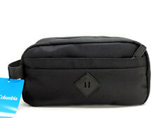 c2ab94942a17 Columbia Men s Zip Travel Kit Black Dopp Shaving Toiletry Case Bag New!
