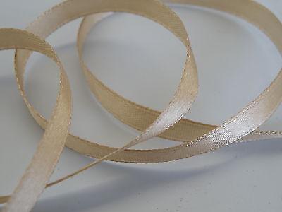 Natural Diy Browband Craft Diversified In Packaging Genteel 6mm X 3m Satin Ribbon