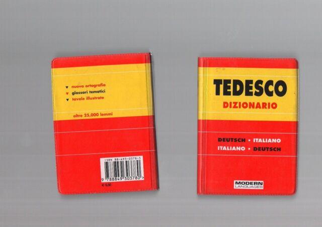 dizionario tedesco/itaiiano-ital-ted-mini tascabile - modern publishing dicti