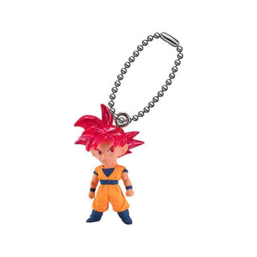 Dragon Ball UDM THE BEST 28 Super Saiyan Son Goku God Figure Bandai