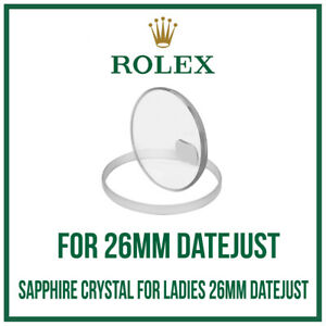 Rolex-vetro-zaffiro-vetro-USA-Made-for-Ladies-Rolex-Oyster-Datejust-26mm