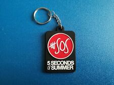 PERSONALISED 5 SECONDS OF SUMMER 5SOS NOVELTY ACRYLIC KEY RING