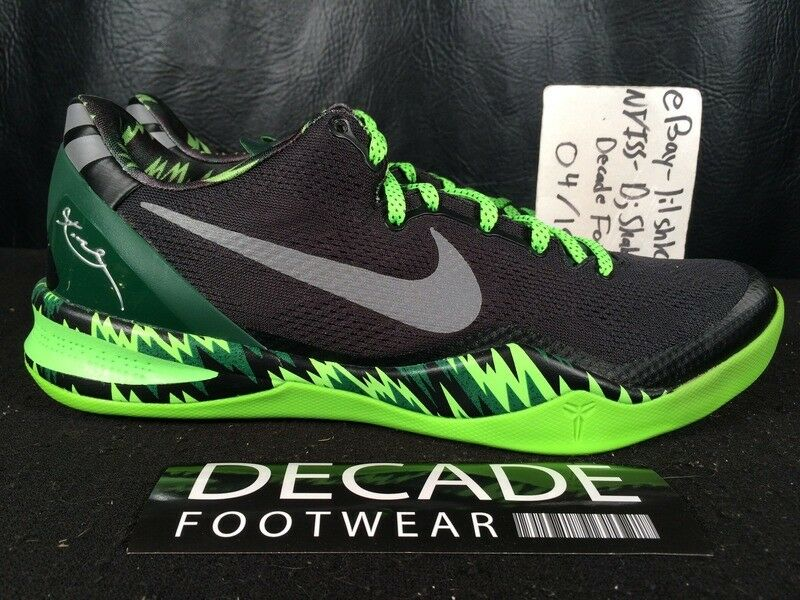 meet 4d284 ec8fd NIKE ZOOM KOBE 8 SYSTEM PP PP PP PHILIPPINE GORGE GREEN BLACK 10 BASKETBALL  613959 003