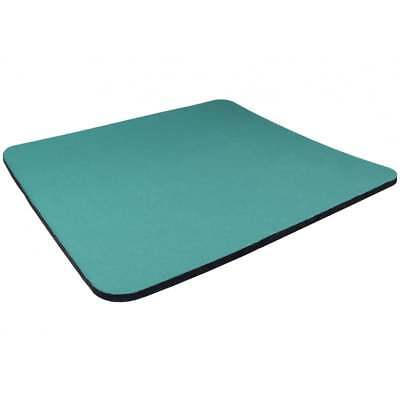 Light Blue rhinocables/® Fabric Mouse Mat Pad 5mm Thick Non Slip Foam 25cm x 22cm Red Green Yellow Black Blue Light Blue Pink Grey