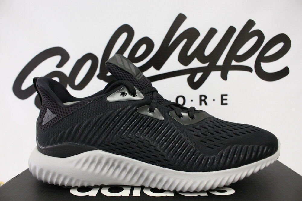 ADIDAS noir ALPHABOUNCE EM UTILITY CORE noir ADIDAS blanc fonctionnement chaussures BY4264 SZ 8.5 ac8ac2