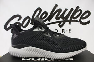 Image is loading ADIDAS-ALPHABOUNCE-EM-UTILITY-CORE-BLACK-WHITE-RUNNING- 658be47d4
