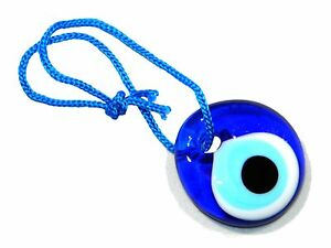 Details about 3cm Lucky Evil Eye Good luck and protection glass eye amulet  Turkish / Greek