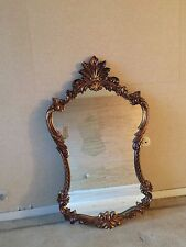 SHABBY VINTAGE ORNATE JEWELRY WALL MIRROR