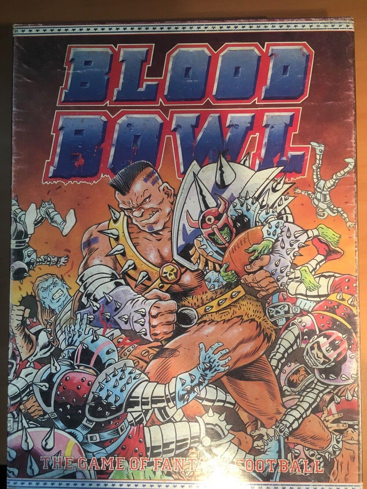 Blood  Bowl 1st Edition, Games Workshop 1986 Board Game  remise élevée