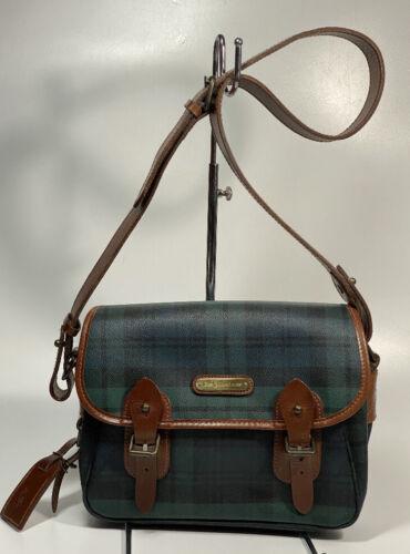Vintage Polo Ralph Lauren Plaid Crossbody Bag