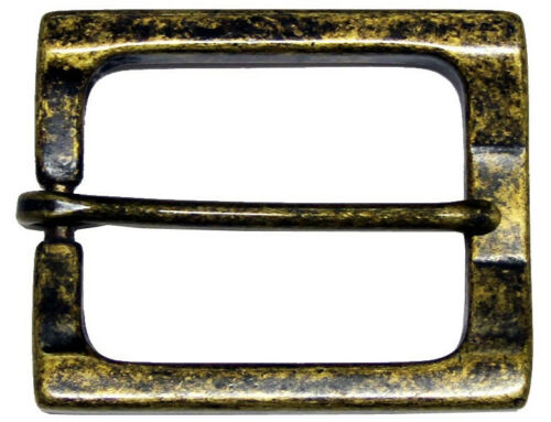 "Heel Bar Vintage Style Replacement Belt Buckle fits 1-1//2/"" = 38 mm CX-04 Buckle"