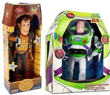 Disney Toy Story TALKING Cowboy Woody & BUZZ Lightyear Action figure Dolls