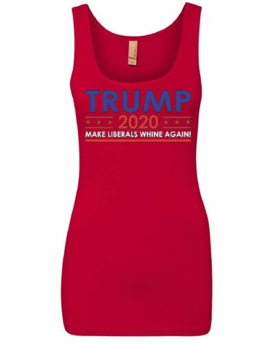 TRUMP 2020 Keep America Great Women/'s Tank Top Make Liberals Whine Again Top