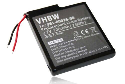 Batterie Navi Batterie 700 mAh pour Garmin Forerunner 205 GPS 305 GPS