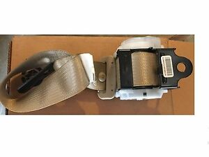 Seat-Belt-Assembly-Rear-LH-Outer-Cadillac-CTS-Wagon-10-14-GM-OEM-19257590-FLR