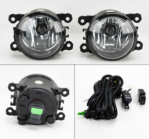 Suzuki-Grand-Vitara-amp-SX4-06-12-Euro-Clear-Front-Fog-Lights-Kit-RH-LH-Pair
