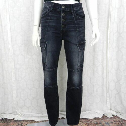 3X1 Jeans Sz 28 Vida Skinny Cargo High Rise