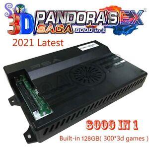 2021 Pandora Box 3d Saga EX 8000 en 1 Jeu Carte Wifi Télécharger plus de jeux d'arcade