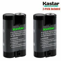 2x Kastar Battery For Kodak Easyshare Cx7300 Cx7310 Cx7330 Cx7430 Cx7530 Dx3215