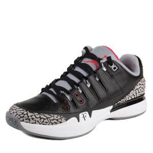 promo code 8345c 9bdc2 Caricamento dell immagine in corso Nike-Uomo-Zoom-Vapor-AJ3-Air-Jordan-Nero-