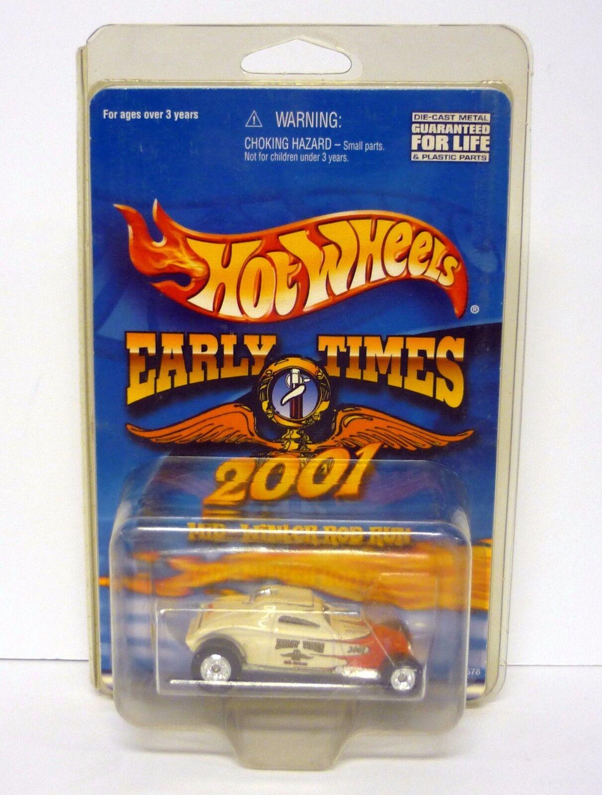 Hot Wheels Mid-Winter Vara Correr so so so Fast 2001 Early Times de Metal Moc Completo  descuento online