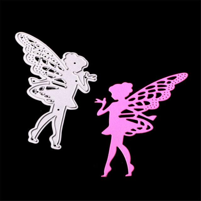 Butterfly Angel Metal Cutting Dies for DIY Scrapbooking Album/photo Card DecorPT