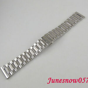 Details About Parnis 22mm 316l Stainless Steel Watch Band Metal Bracelet Fit Men S