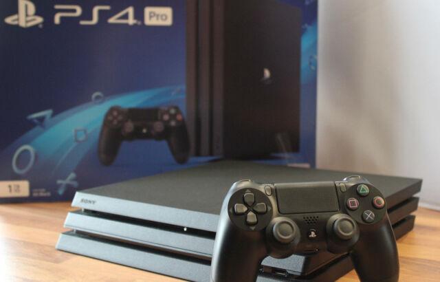 EJS Sony PlayStation 4 Pro 1000GB/1TB Schwarz PS4 black mit Gewährleistung