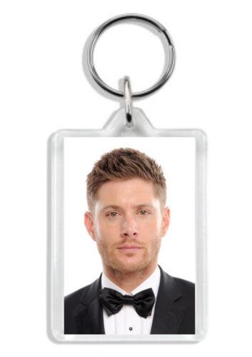 Jensen Ackles 002 Bag Tag *Great Gift* Supernatural Keyring