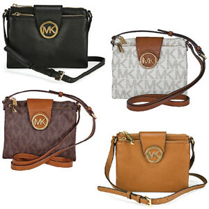 71024e6edf62 michael kors fulton crossbody embossed leather shoes - Marwood ...